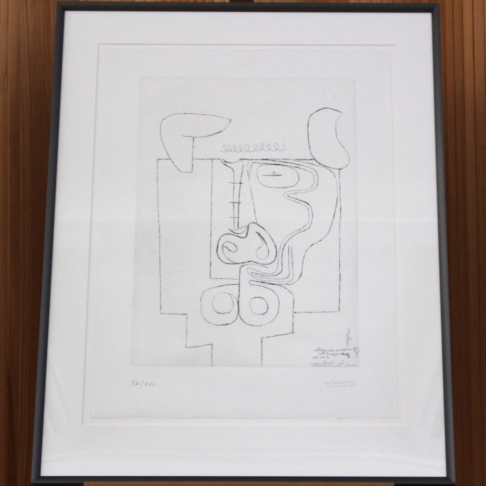 Le Corbusier etching