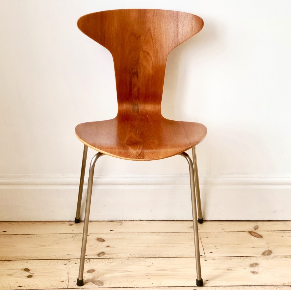 3105 Mosquito dining chair by Arne Jacobsen for Fritz Hansen, 1950s