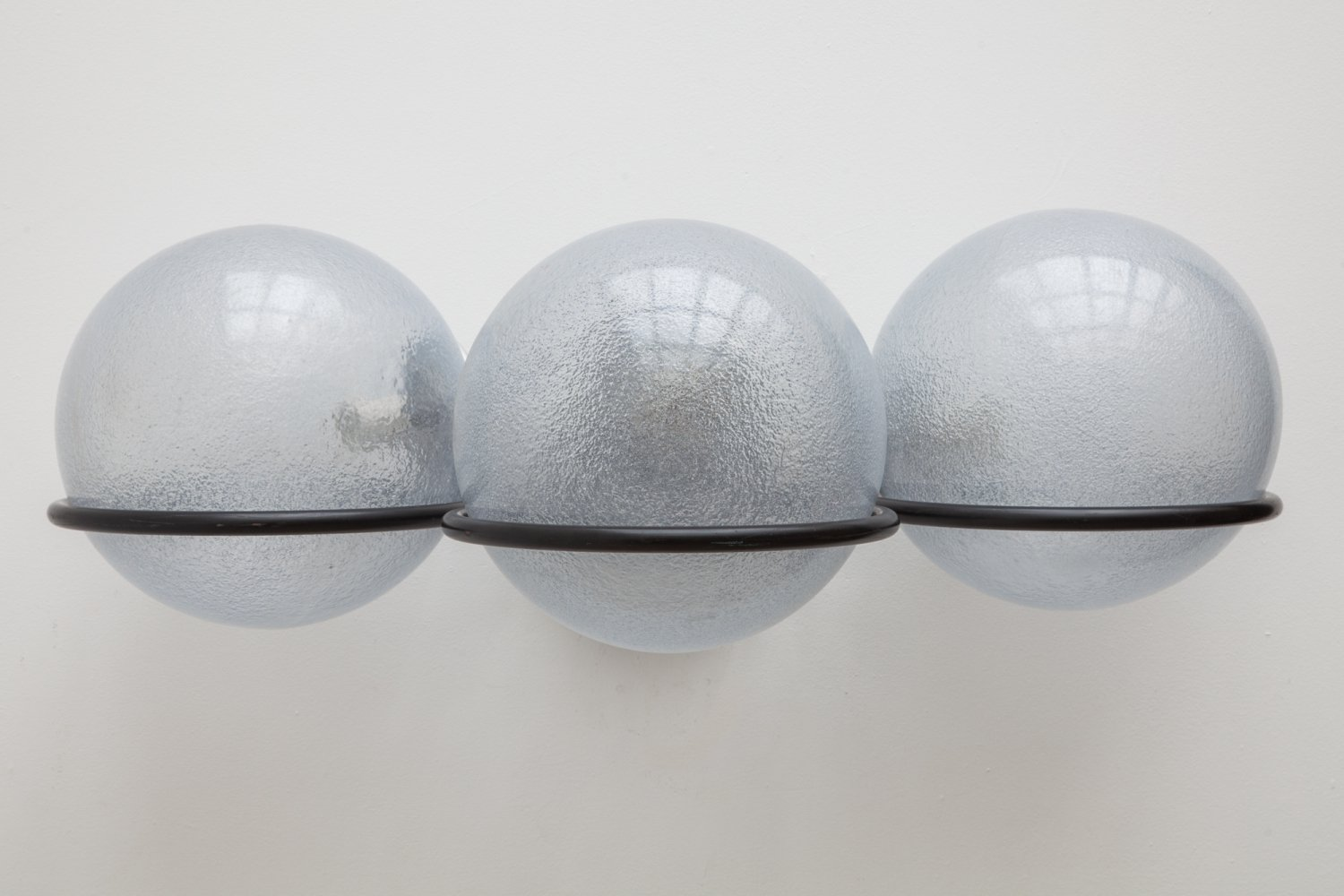 Outdoor Wall Light with Three Globes, 1960s