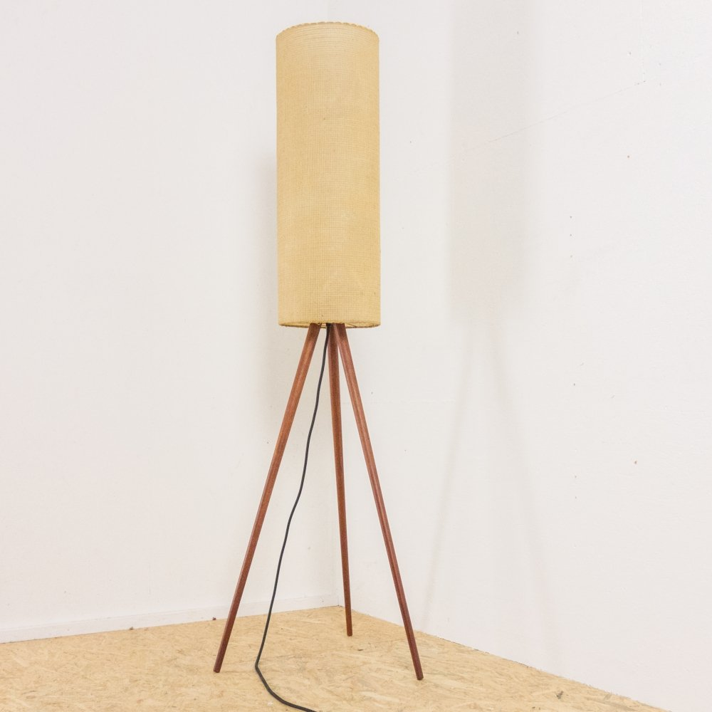 Danish floorlamp in teak