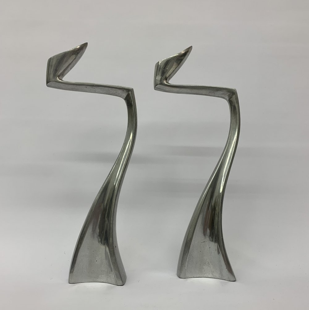 Pair of aluminium