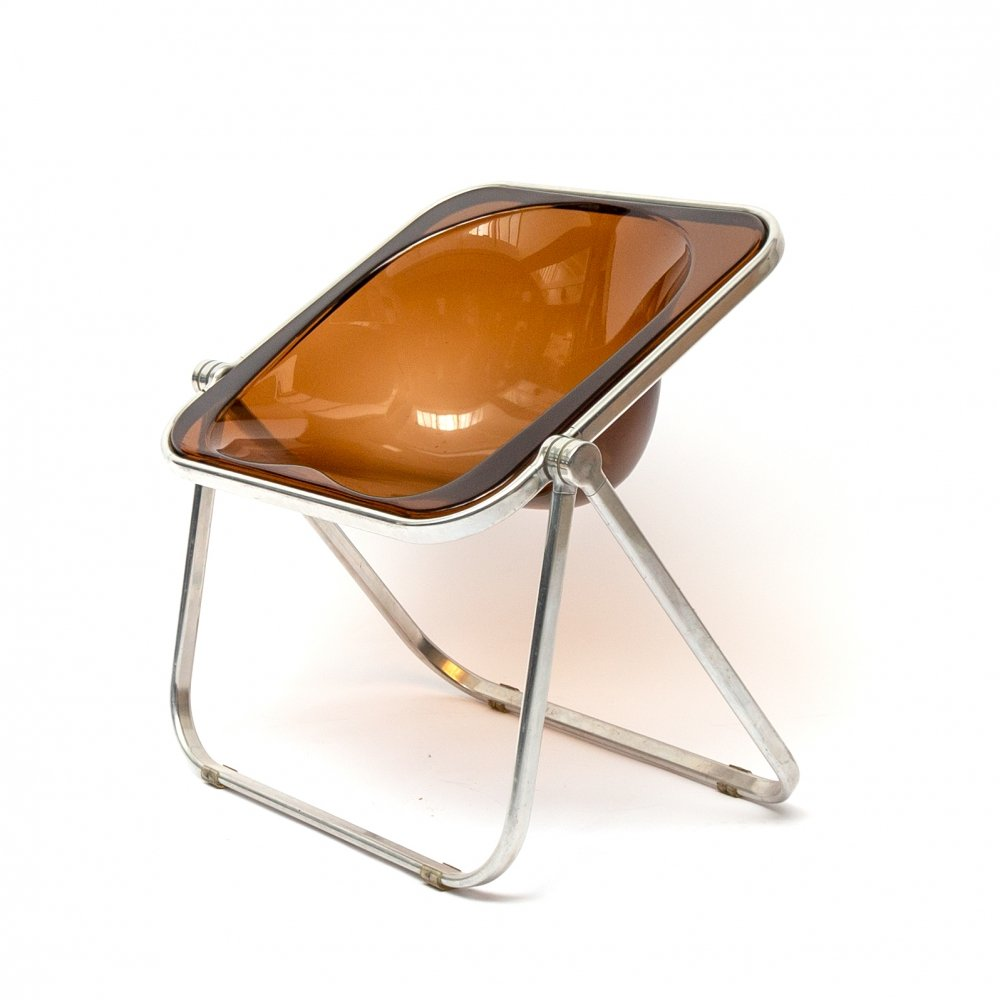 Plona Chair by Giancarlo Piretti for Castelli, Italy 1970s