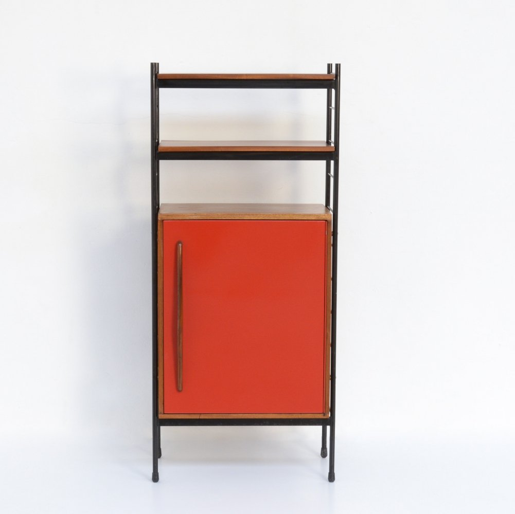 Red Cabinet by Willy Van Der Meeren for Tubax