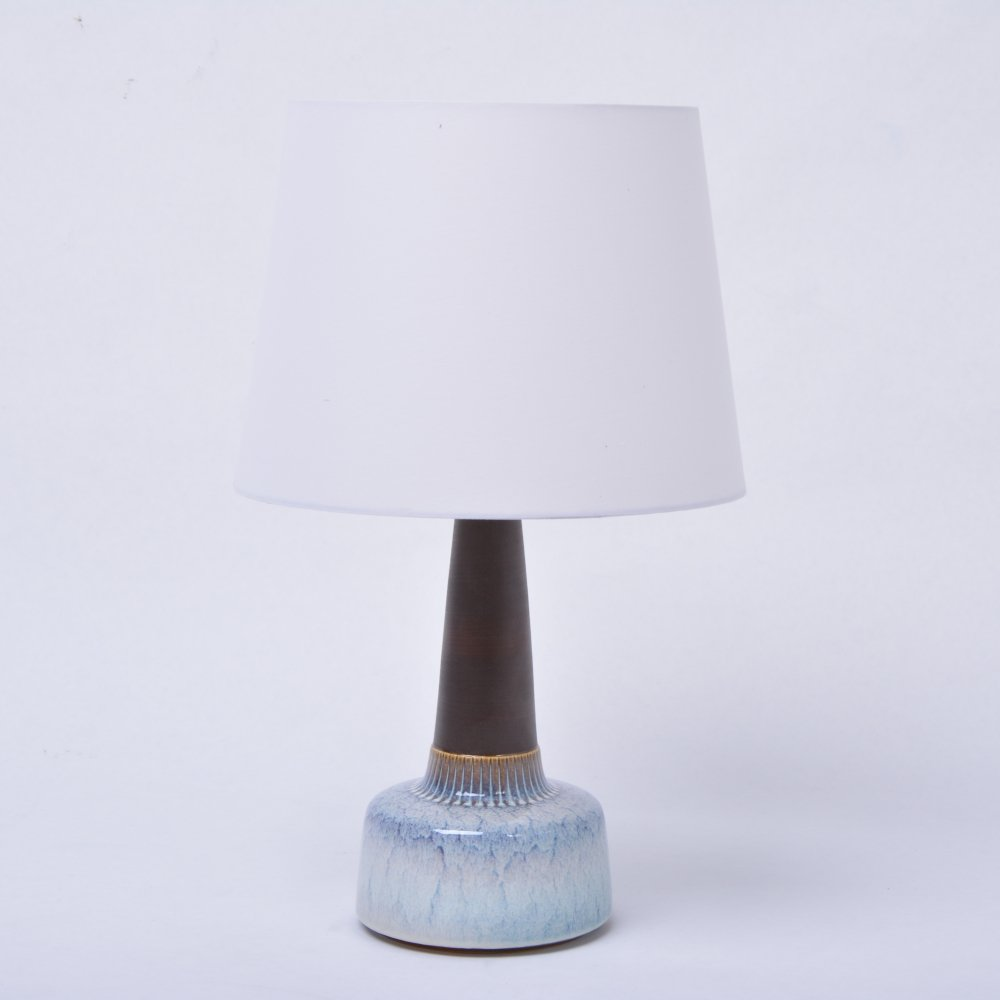 Mid-Century model 1080-3 stoneware table lamp by Einar Johansen for Søholm