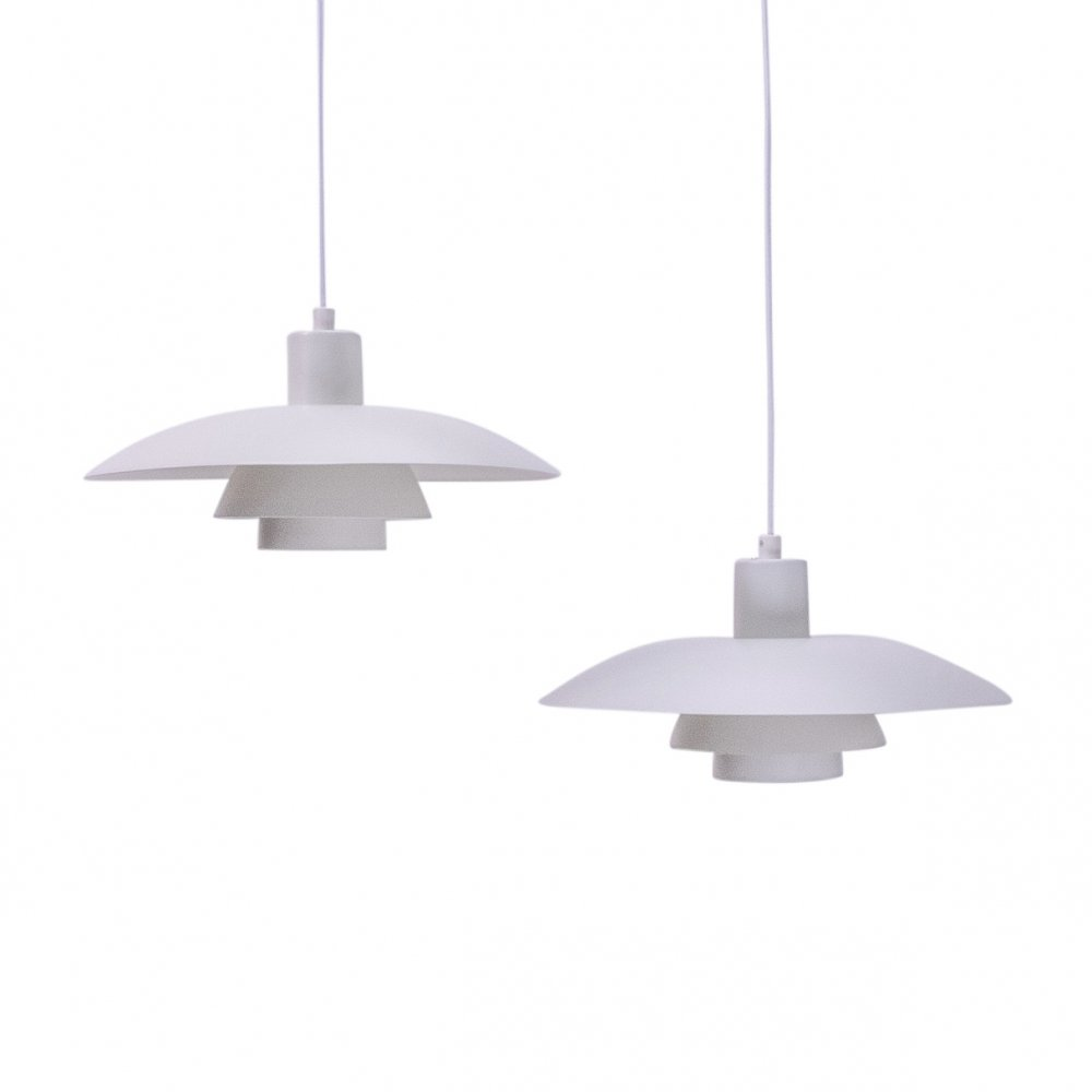 Pair of Poul Henningsen PH4/3 Pendants