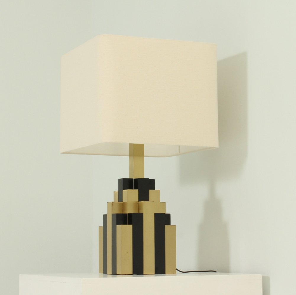 Large Lumica Cityscape Table Lamp