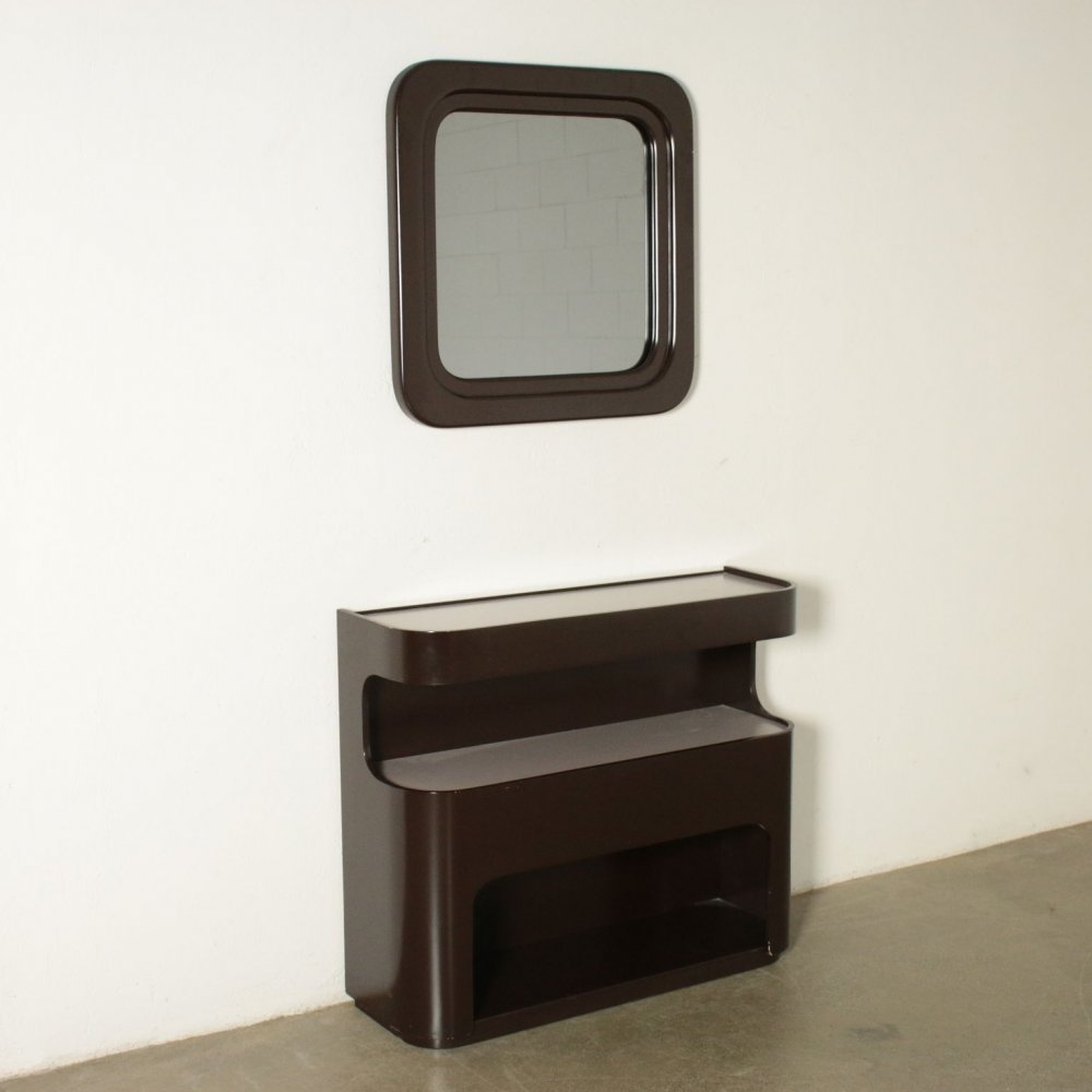 1960s Vintage Console with Mirror