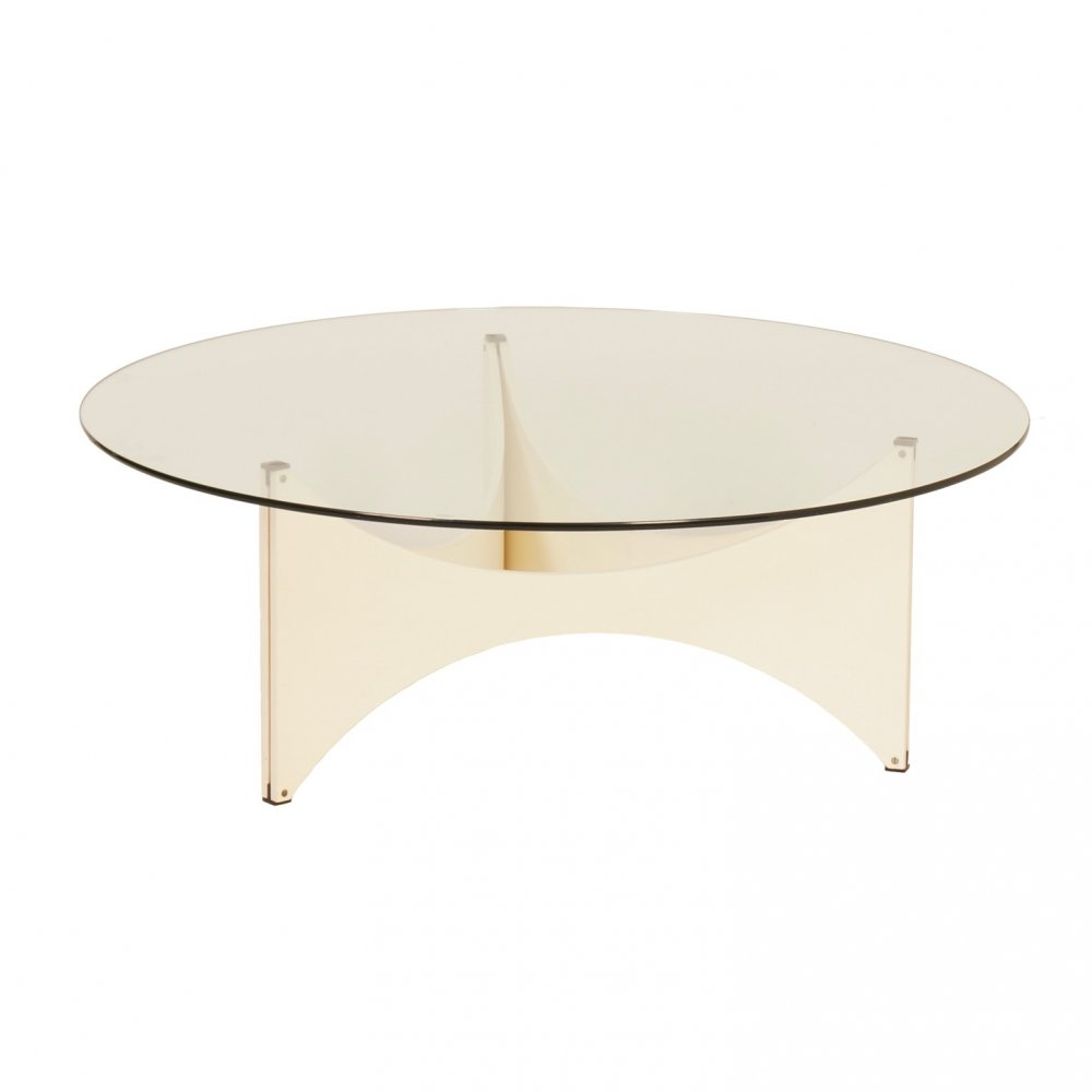 Round Coffee table by Werner Blaser for
