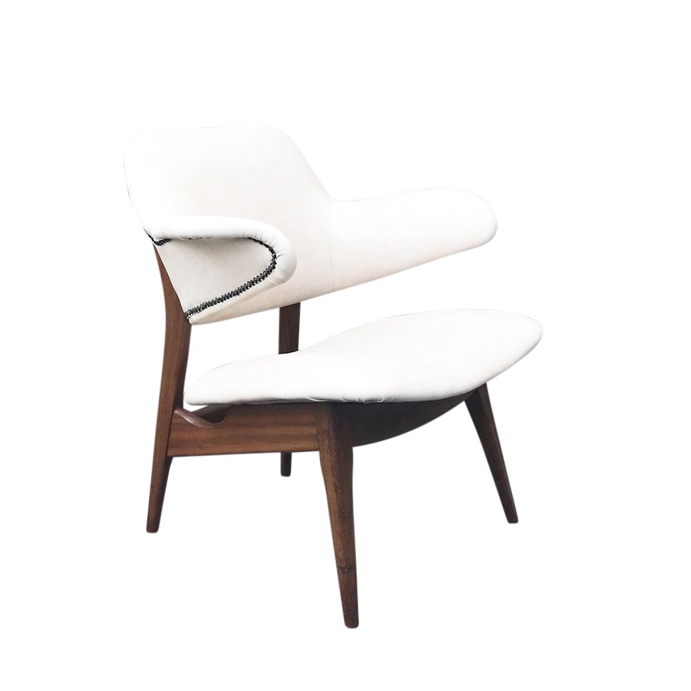 Pinguin arm chair by Louis van Teeffelen for Wébé, 1950s