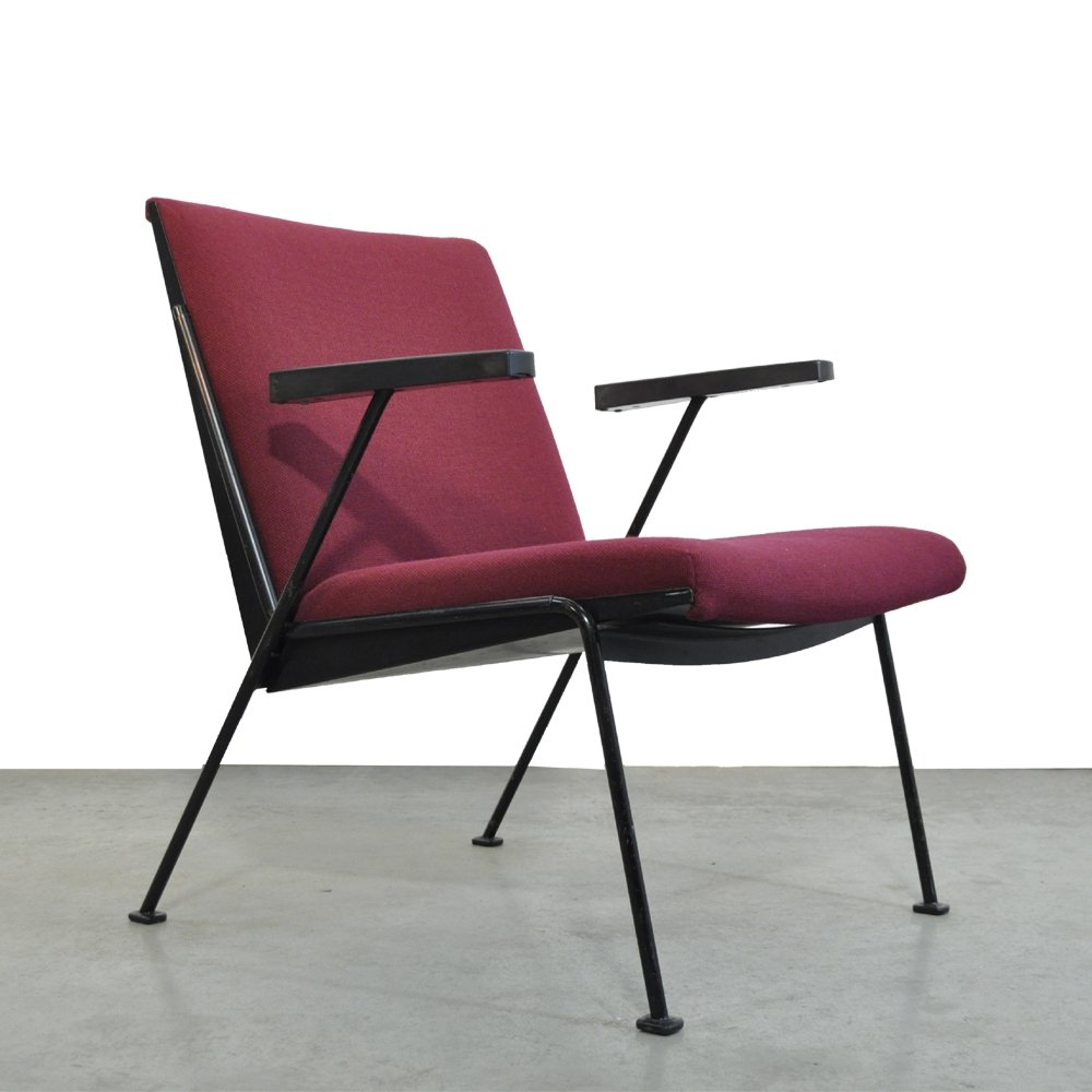 Oase arm chair by Wim Rietveld for Ahrend de Cirkel, 1950s