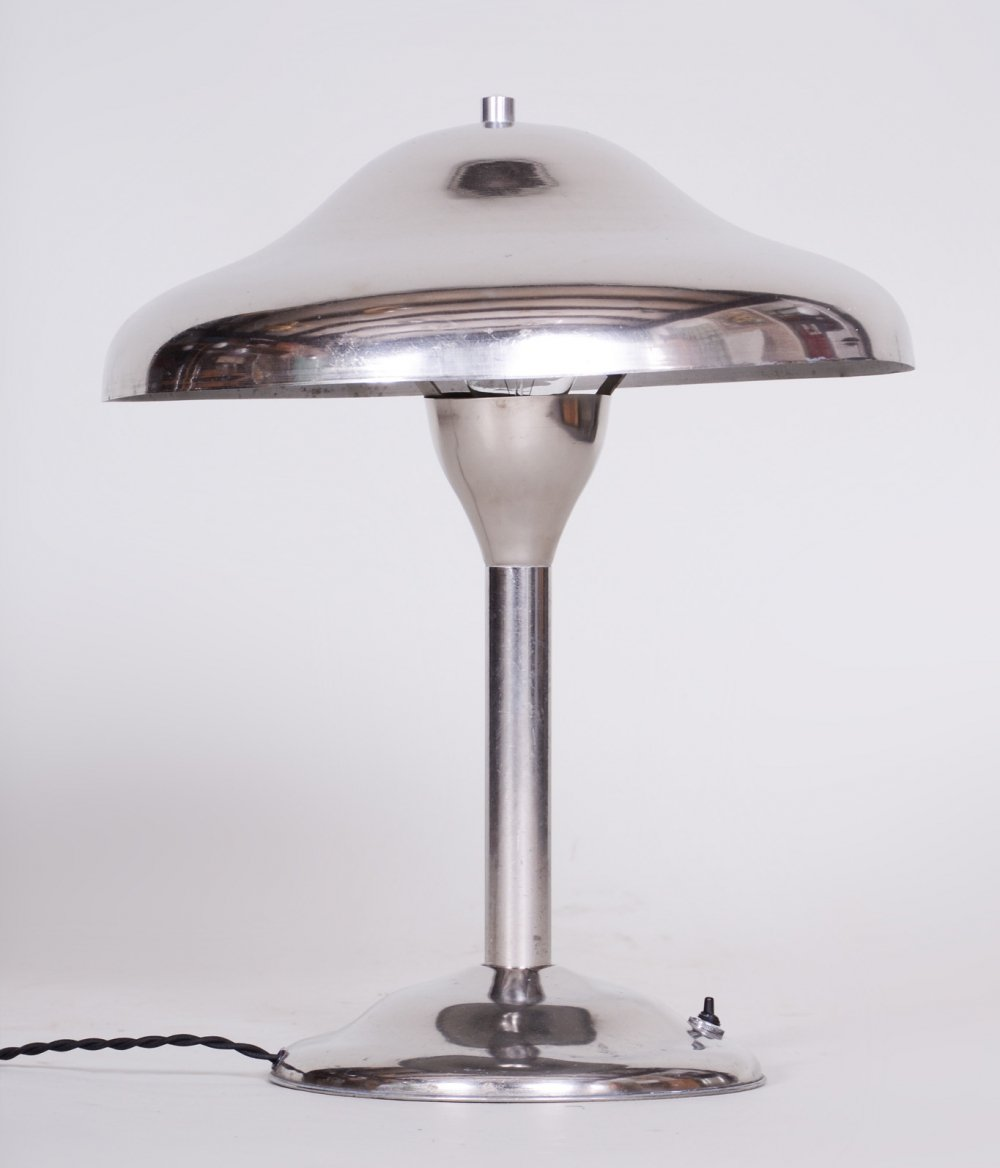 Czech Functionalism Bauhaus Lamp by Architect Frantisek Anyz, 1960s