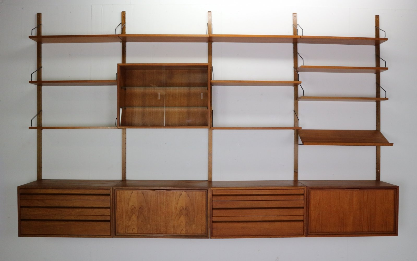 Extra Large Poul Cadovius for Royal System Wall Unit, 1950