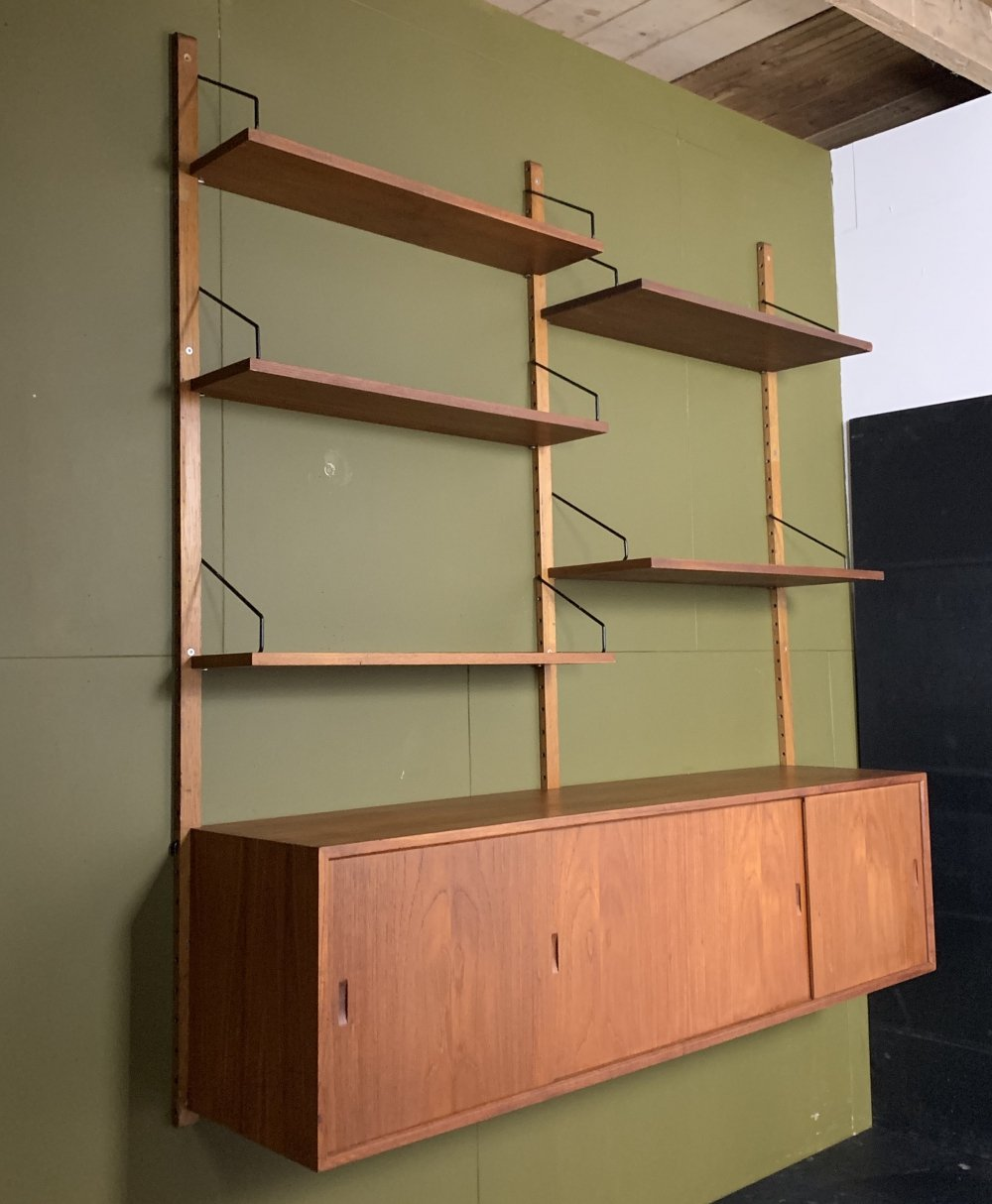 Poul Cadovius wall system, 1950s