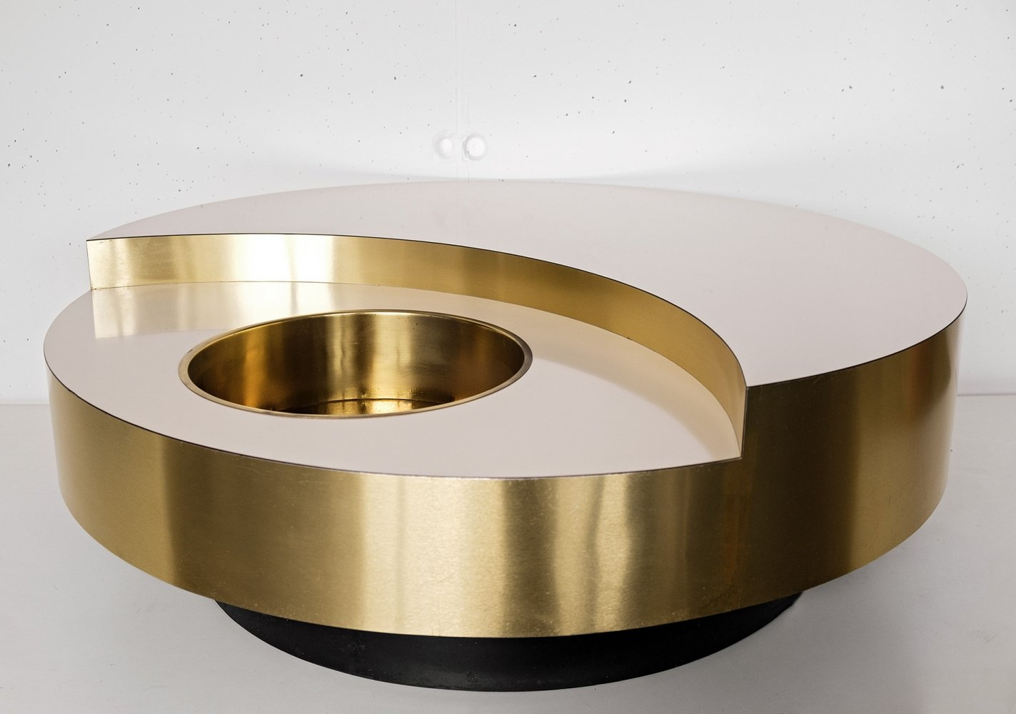 TRG coffee table by Willy Rizzo for Mario Sabot, 1970s