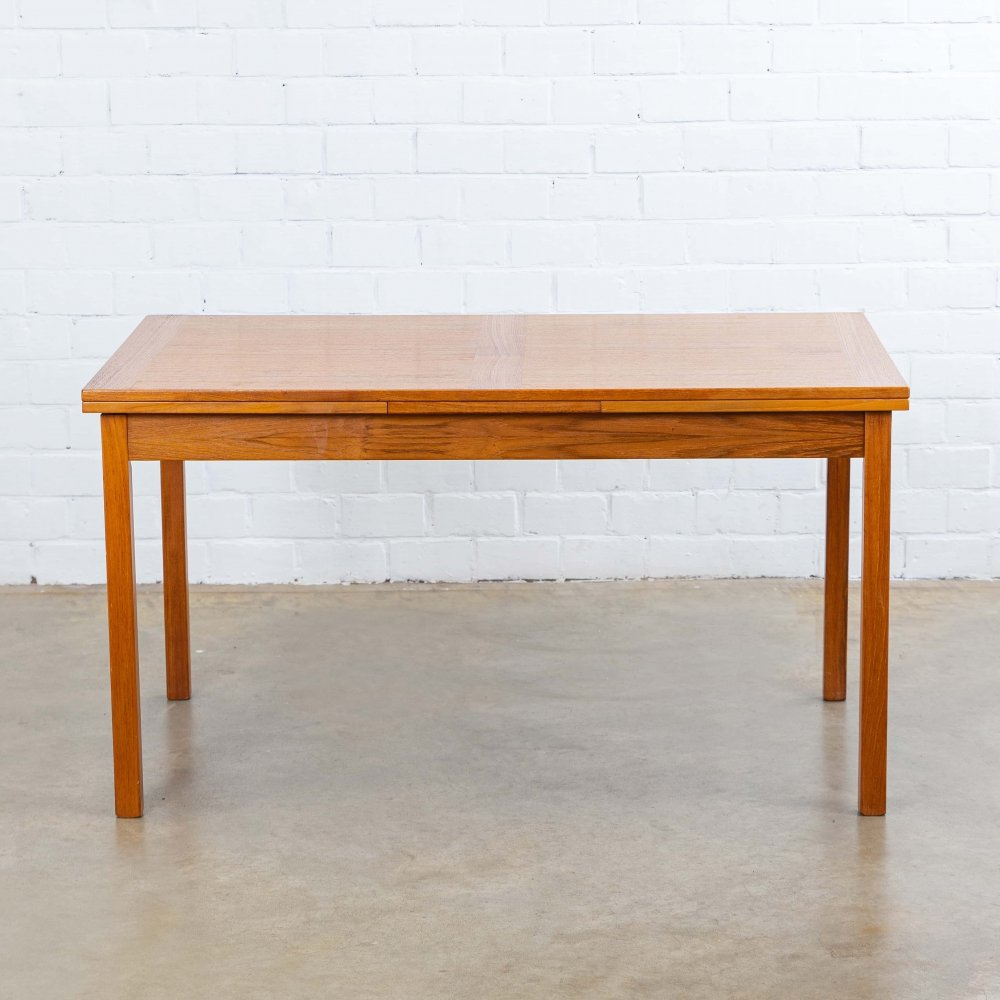 Ansager Møbler dining table, 1970s