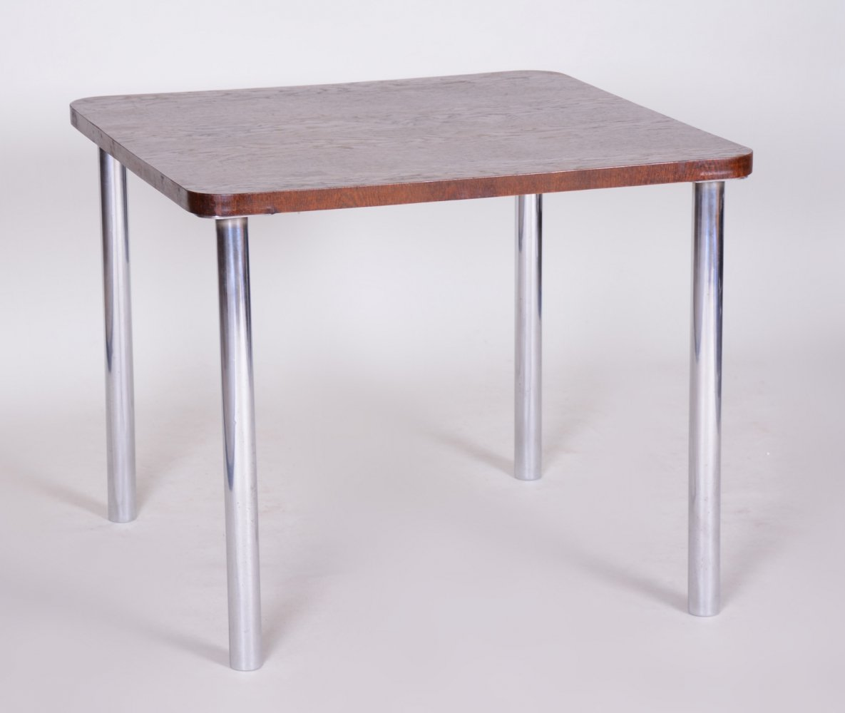 Dining table by Marcel Breuer for Slezák, 1930s