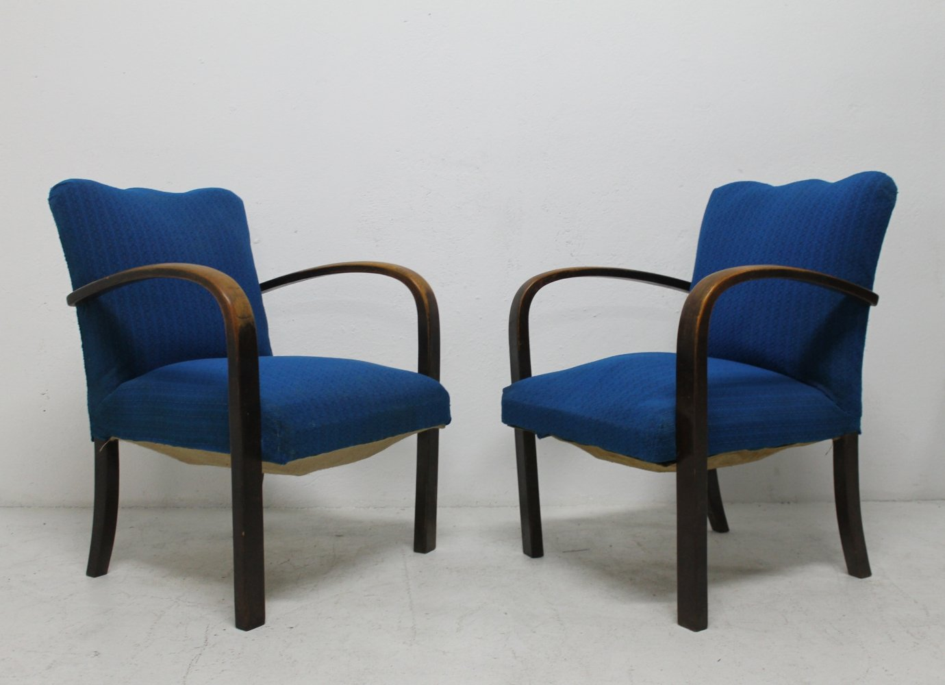 Pair of Thonet lounge chairs, 1950s