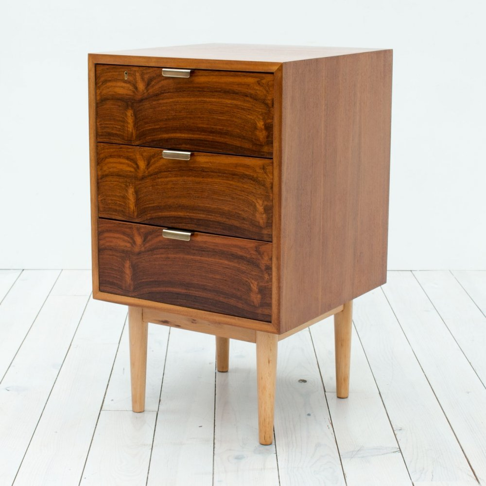 Robin Day Interplan Model U Rosewood Chest of Drawers by Hille, 1950s