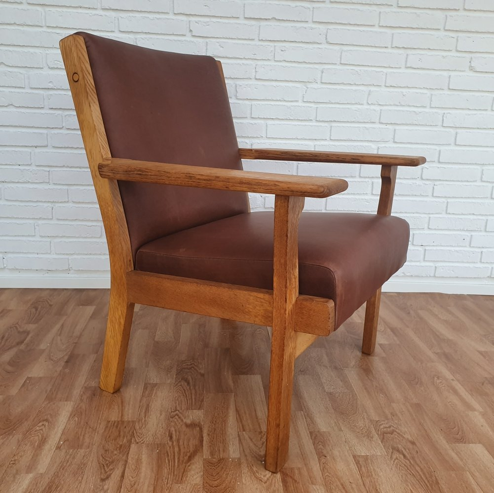 Danish armchair model GE 181 by Hans J. Wegner, 1970s