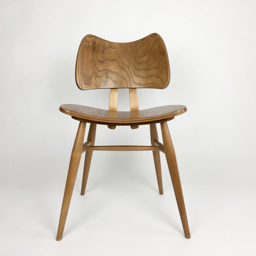 2 x Butterfly dining chair by Lucian Randolph Ercolani for Ercol, 1950s