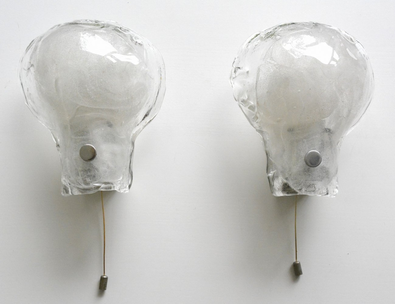 Pair of wall lamps by JT Kalmar for Franken KG Germany, 1960s