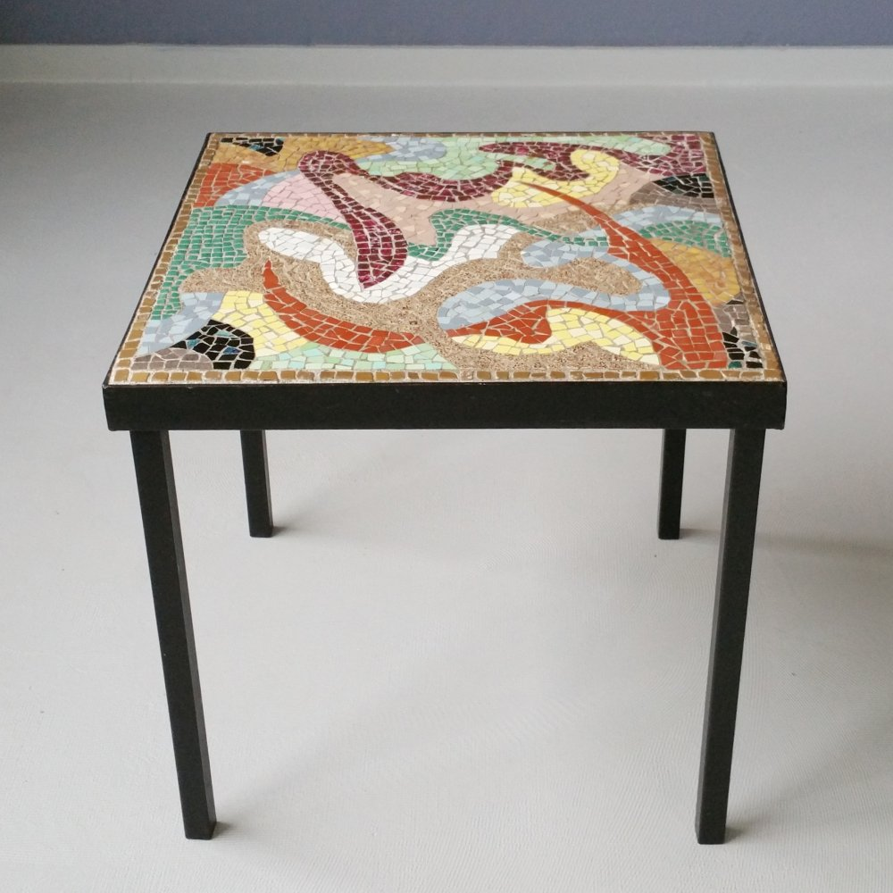 Mosaic Table by S.M. Gmelig, 1960s
