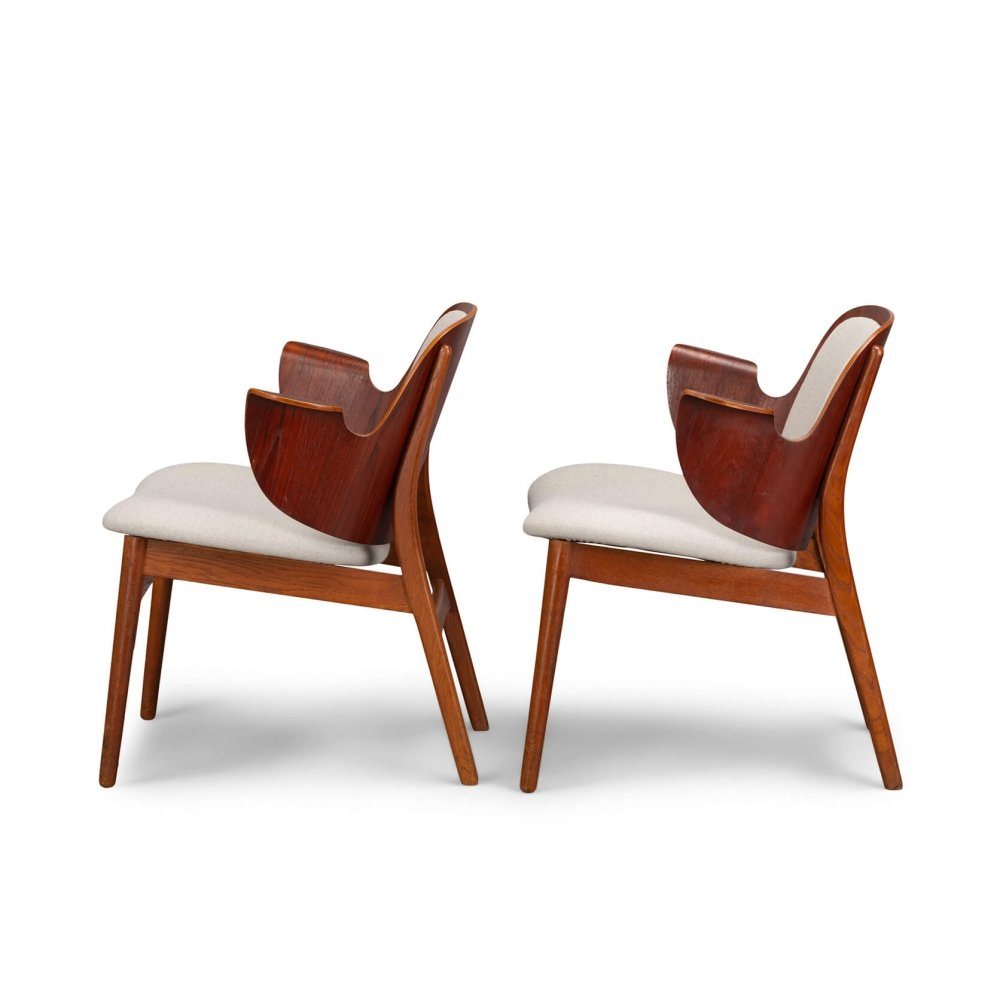 Pair of Danish midcentury armchairs by Arne Hovmand Olsen, 1960s