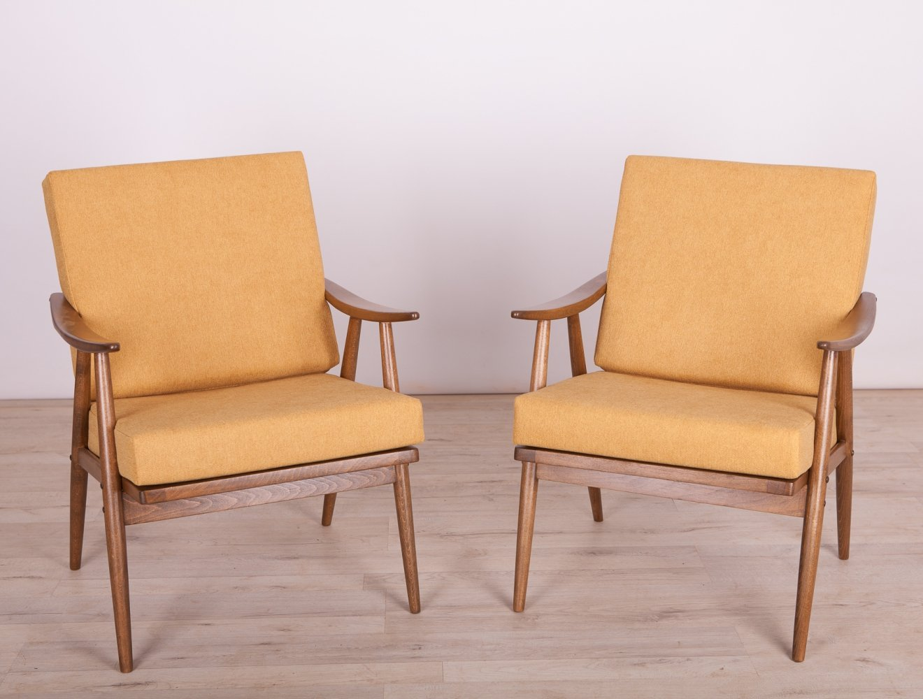 Pair of Vintage Armchairs from Ton Czech, 1960s