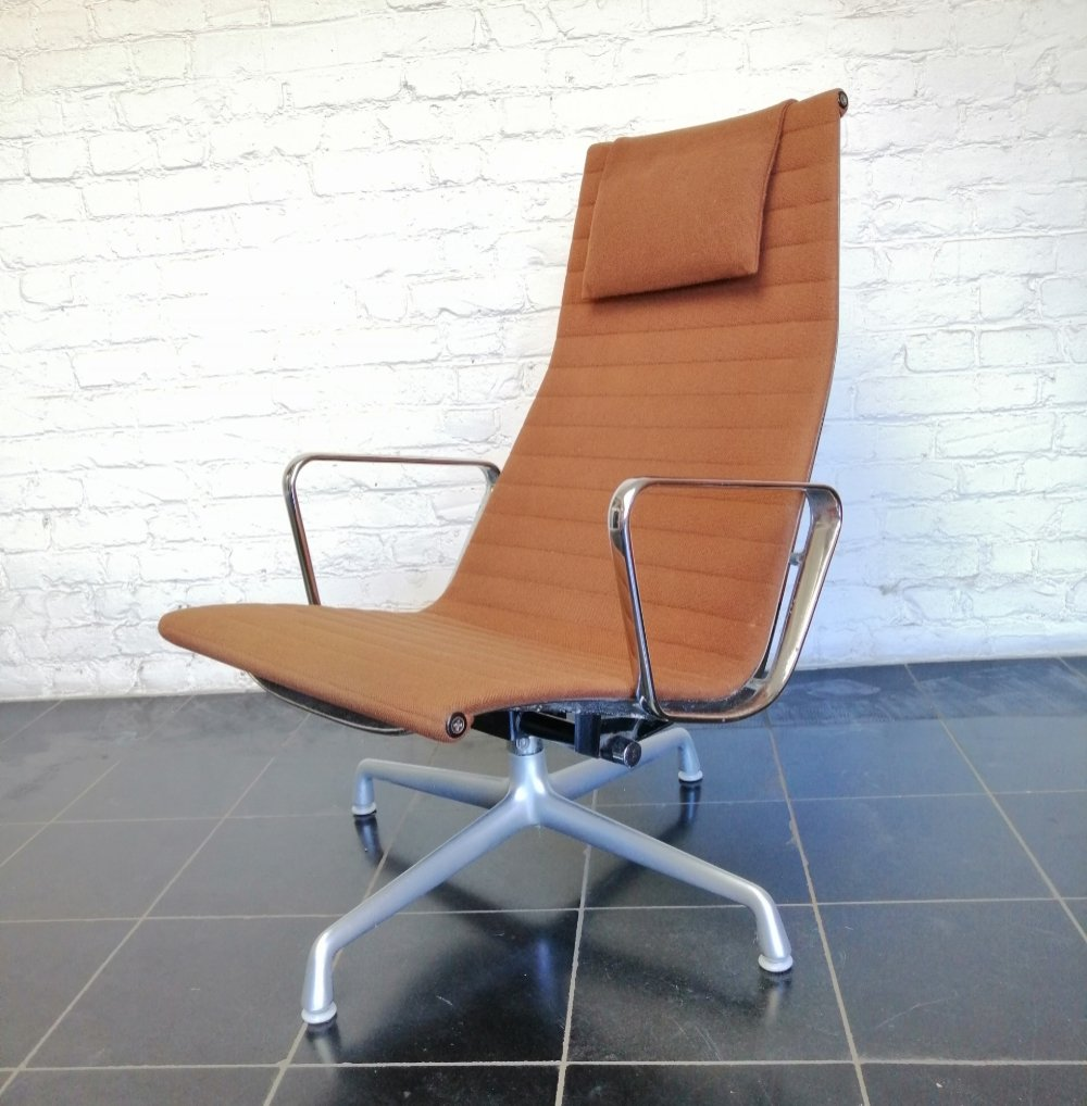 EA124 lounge chair by Charles & Ray Eames for Herman Miller