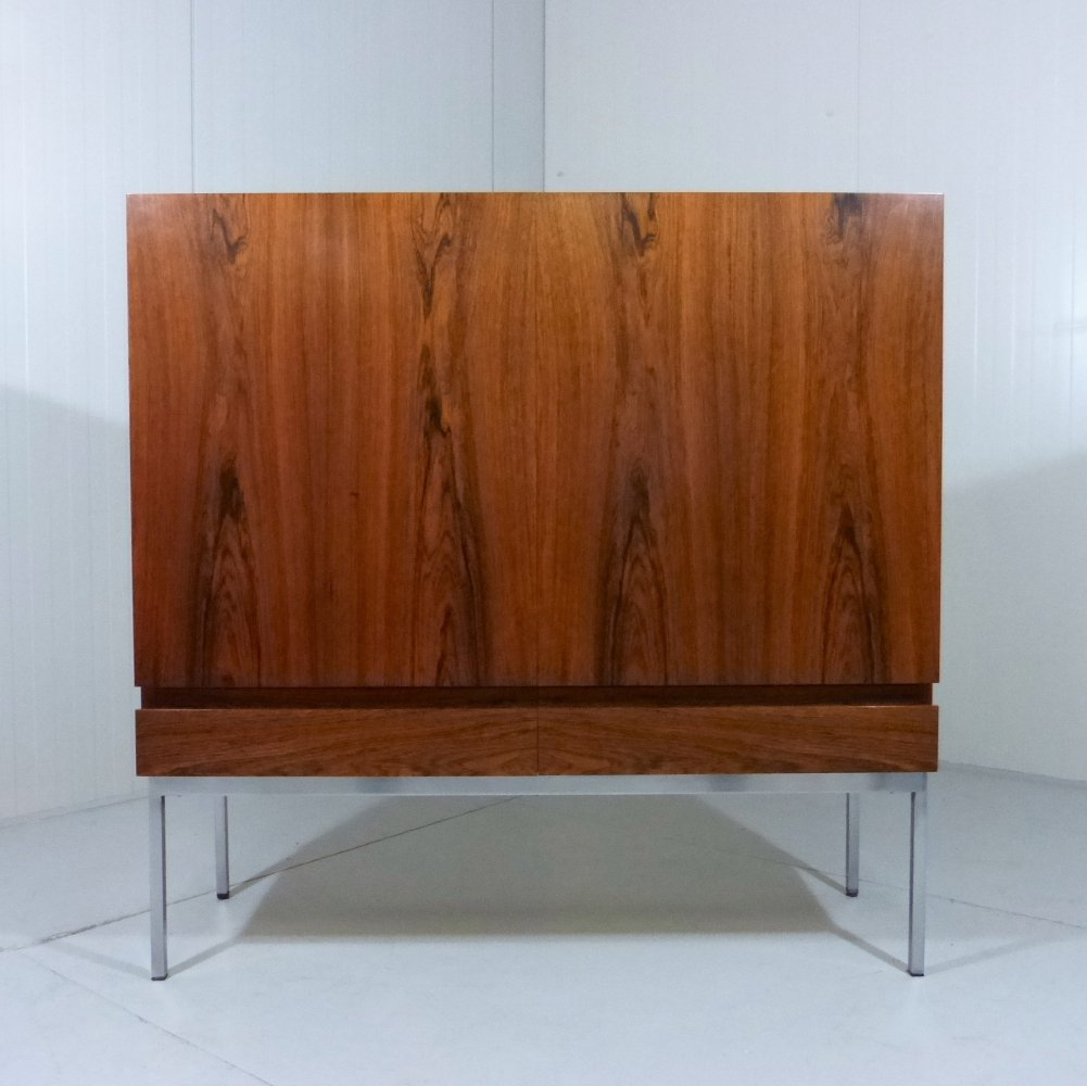 Rosewood Highboard by Dieter Wäckerlin for Behr Möbler, 1950