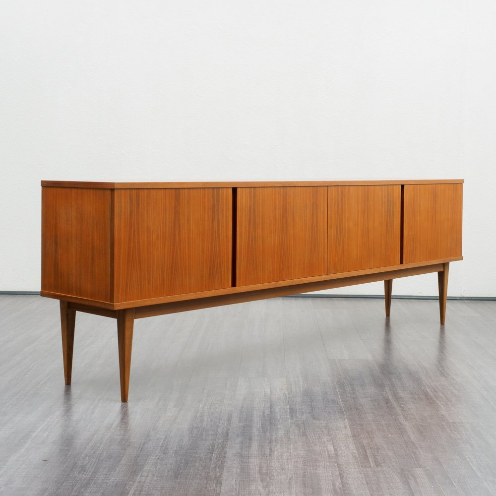 Mid-century walnut sideboard from WK Möbel, Germany 1960s