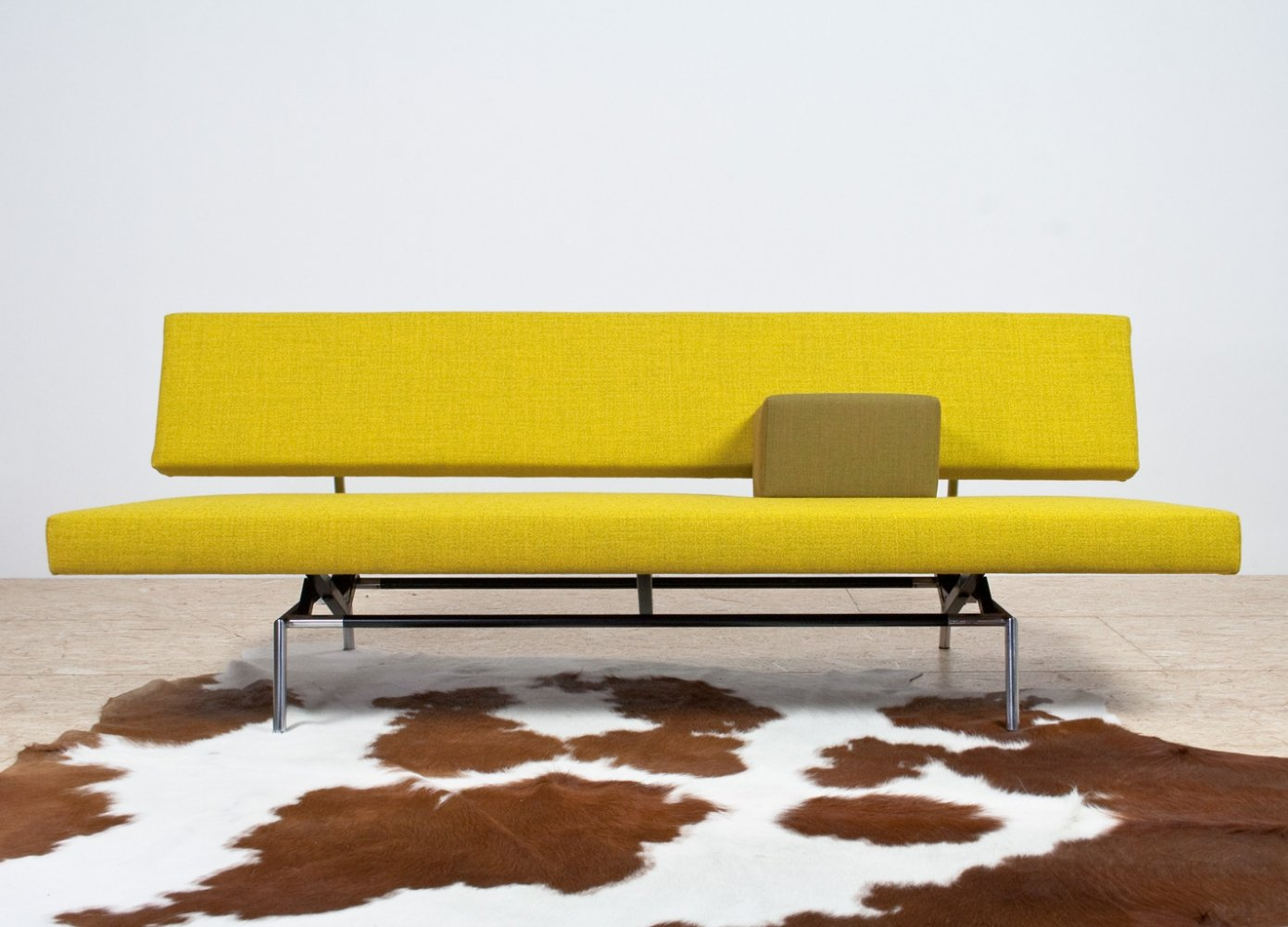BR02 sofa daybed in yellow by Martin Visser for Spectrum, 1960s