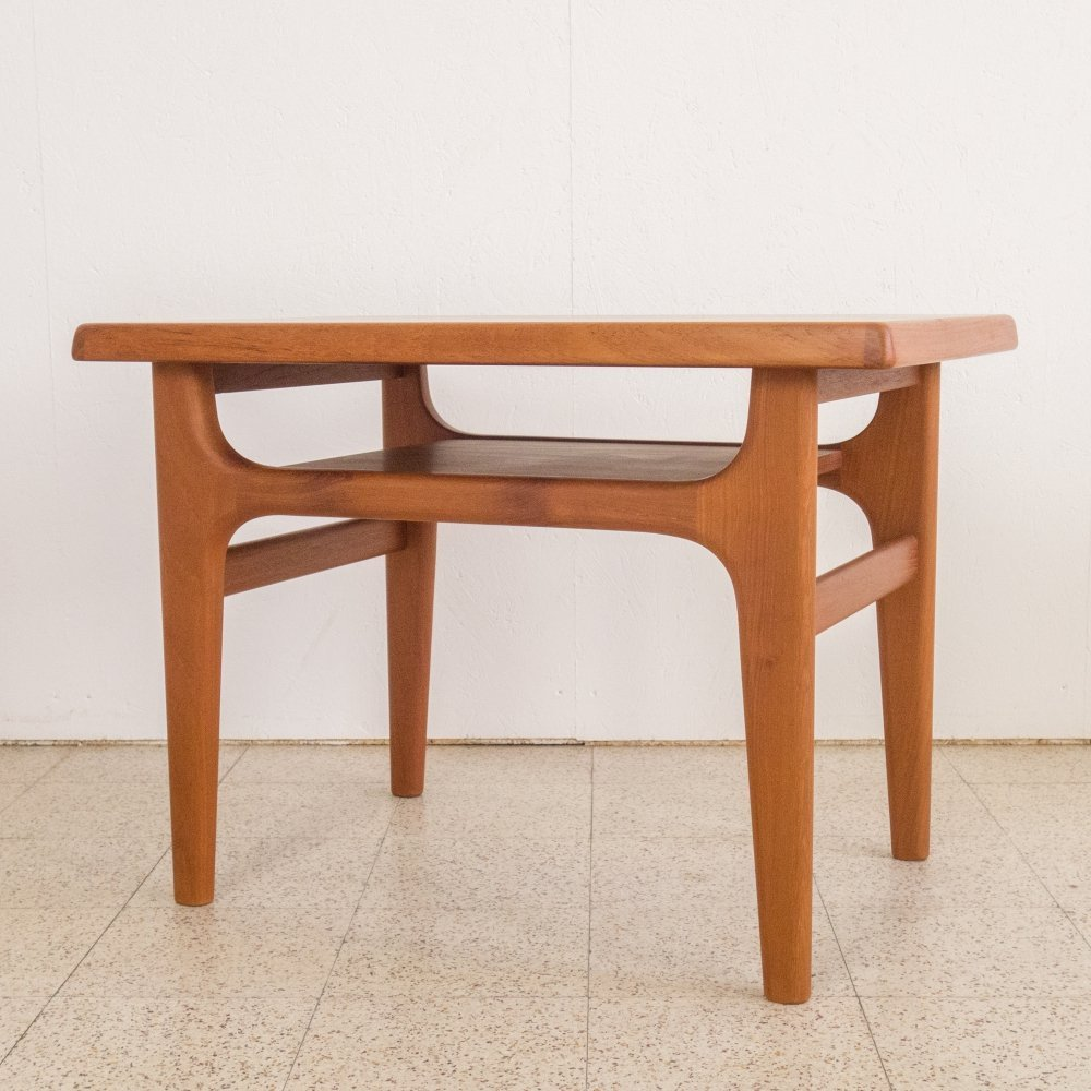 Teak side table by Niels Bach