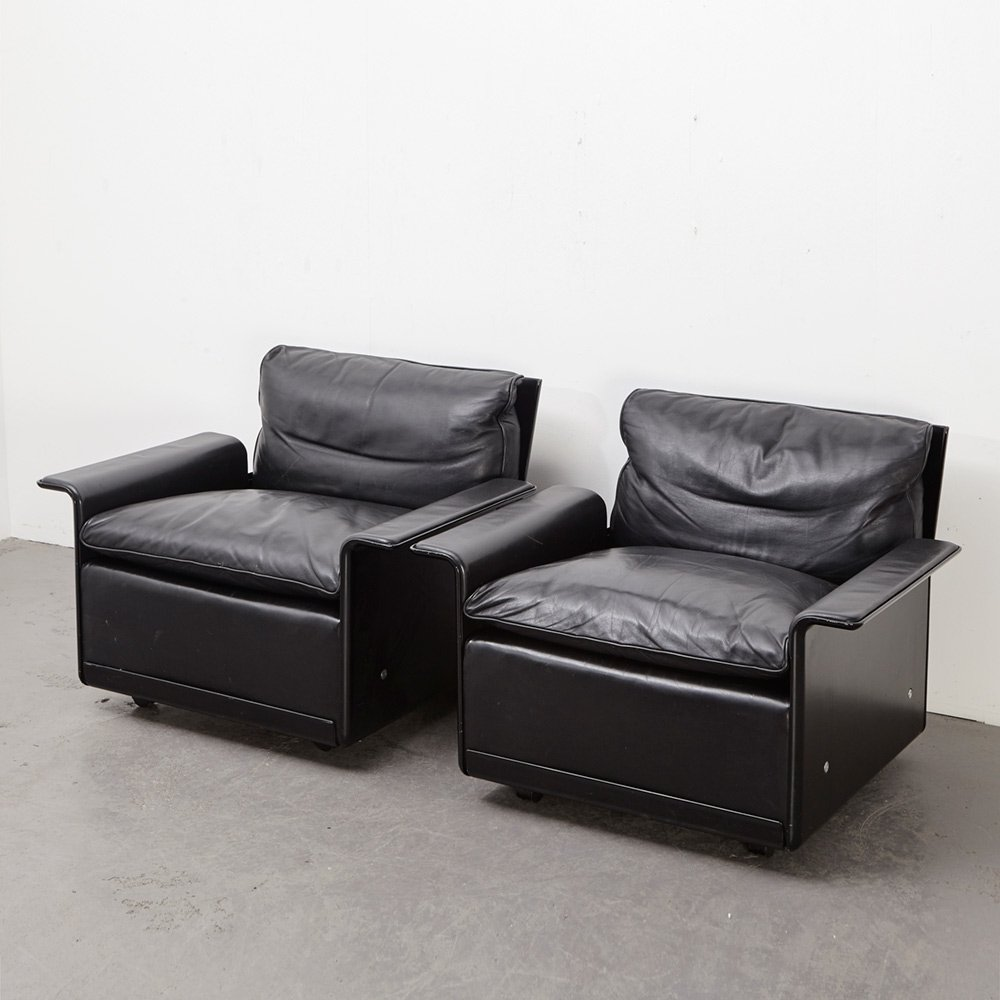 Pair of Lounge Chairs 620 by Dieter Rams for Vitsoe, 1962