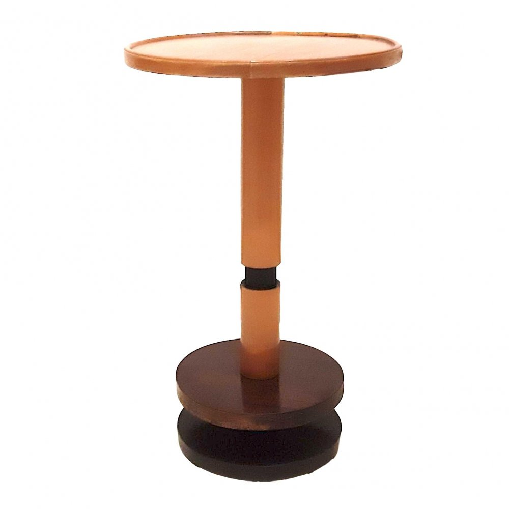 Wooden Art Deco side table by Alro, 1940s