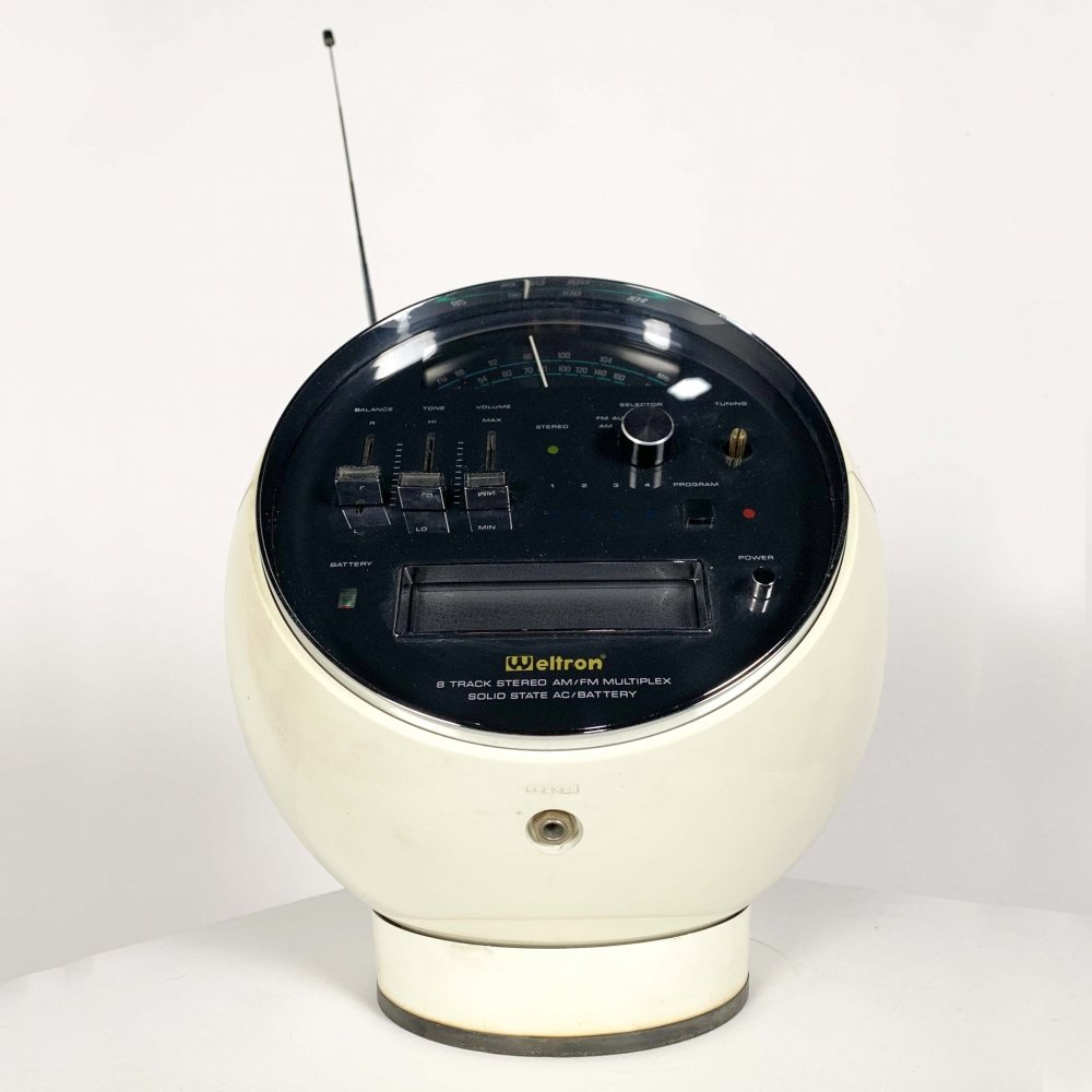 Model 2001 Space Ball Radio from Weltron, 1970s
