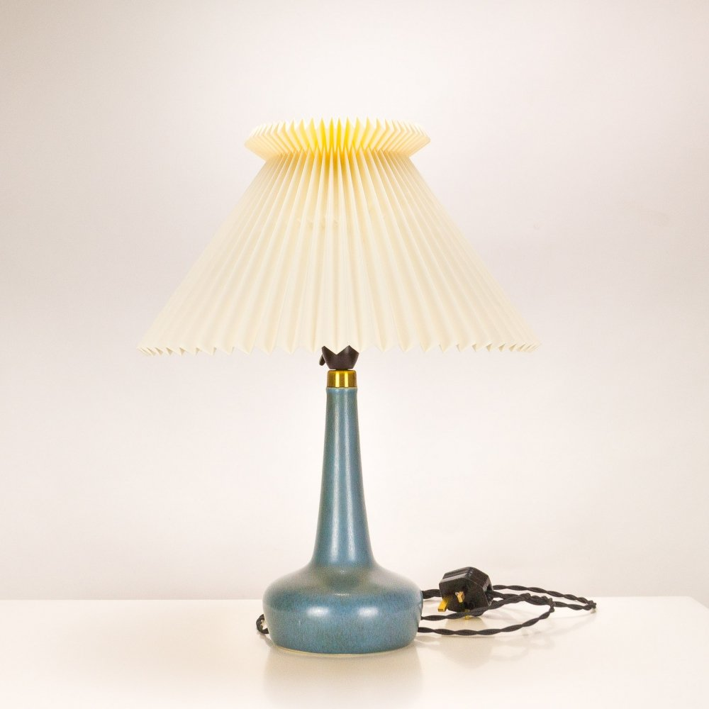 Le Klint Palshus Stentöj Model 311 Side Lamp, Denmark 1960s