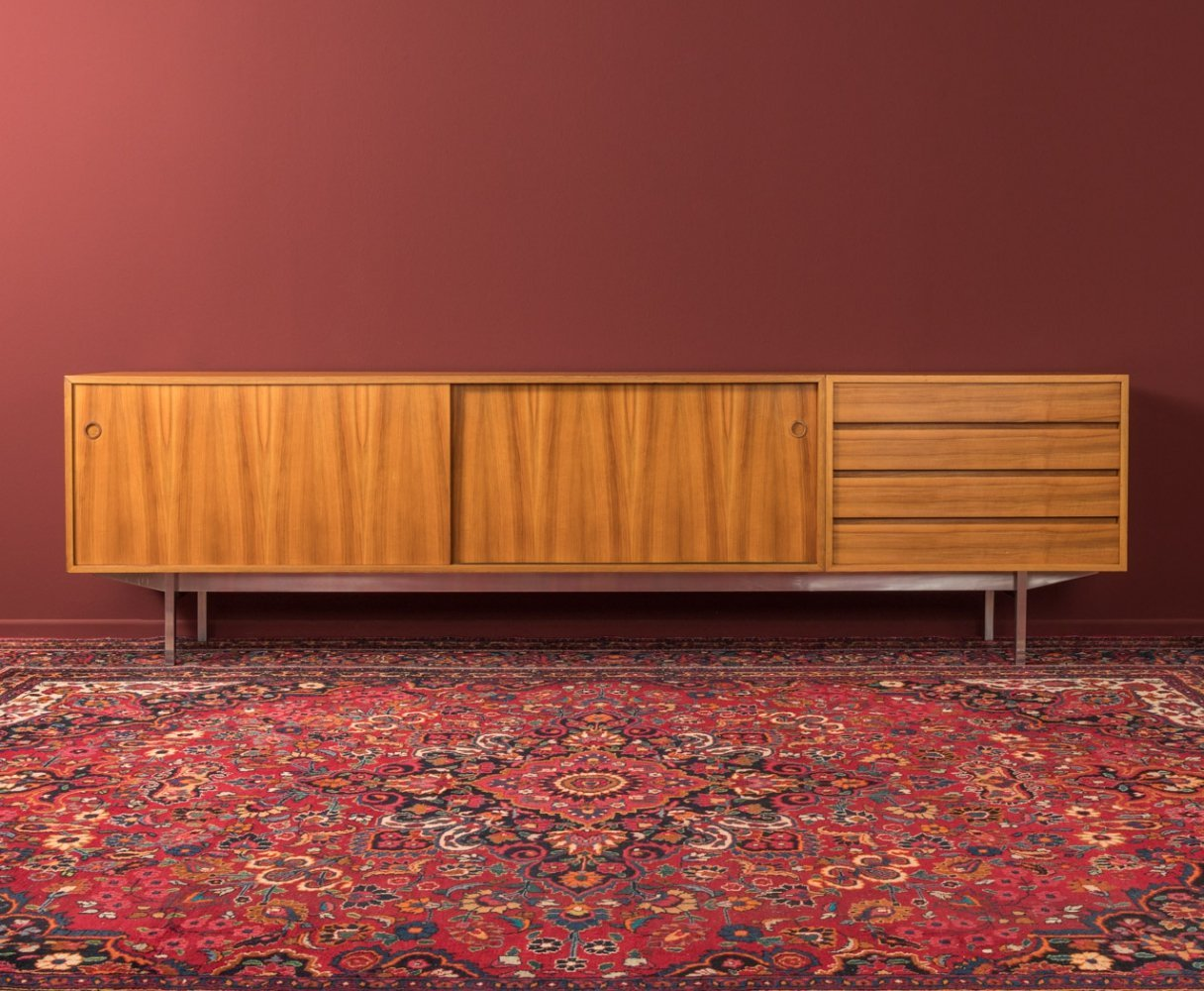 Sideboard with rotatable doors by Wilhelm Renz, Germany 1960s