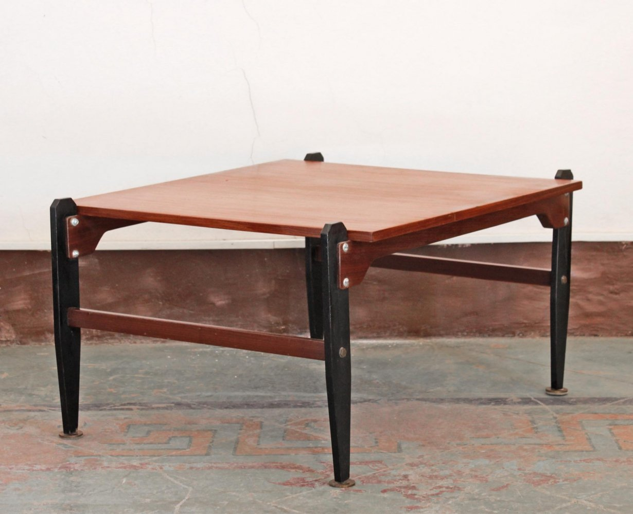 1950s vintage coffee table in scandinavian style