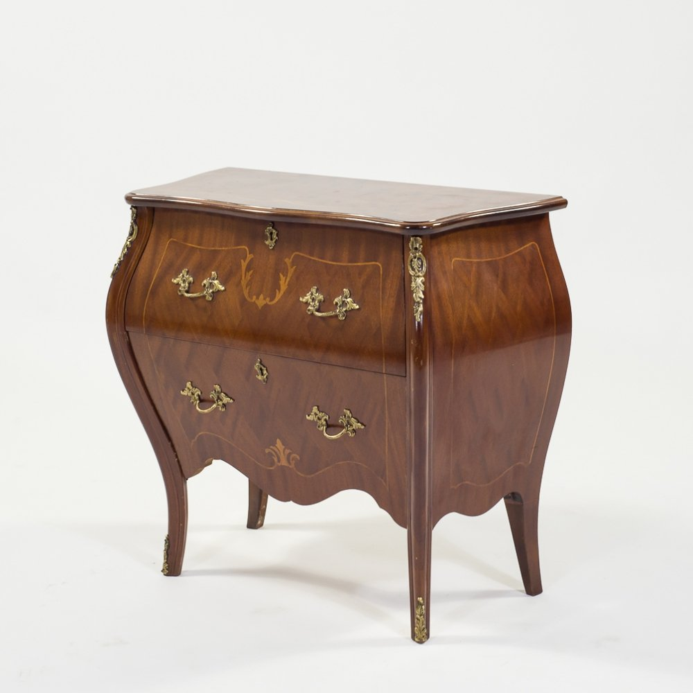 French mahogany veneer commode, 1920