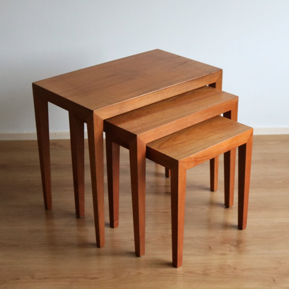 Nesting table by Severin Hansen for Bovenkamp, 1960s