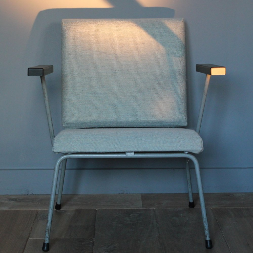 415/1401 arm chair by Wim Rietveld for Gispen, 1950s