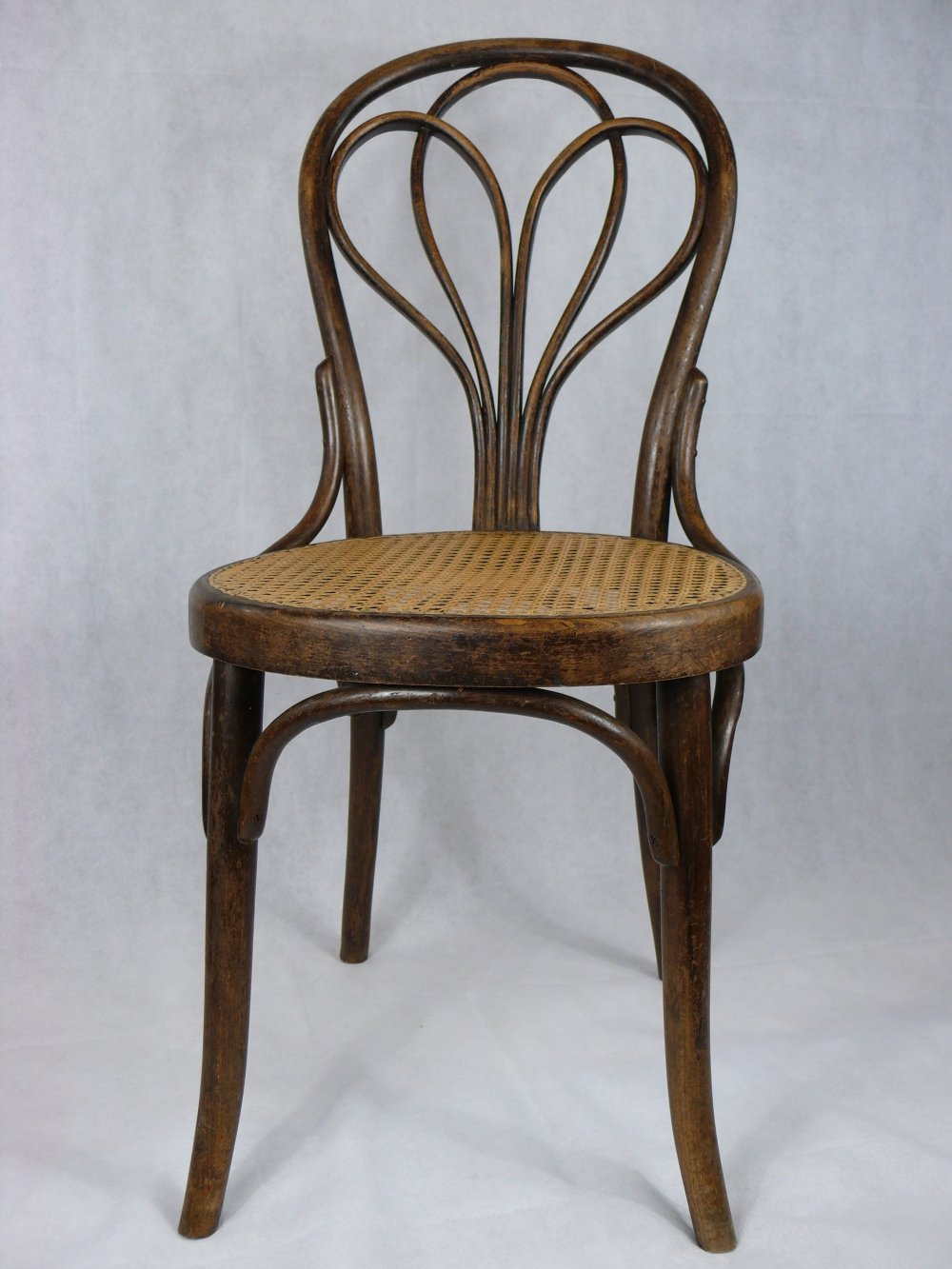 Set of four Thonet No. 25 chairs