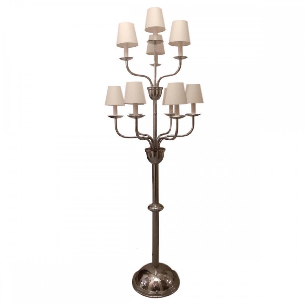 Portable Art Deco Candelabra by Devis