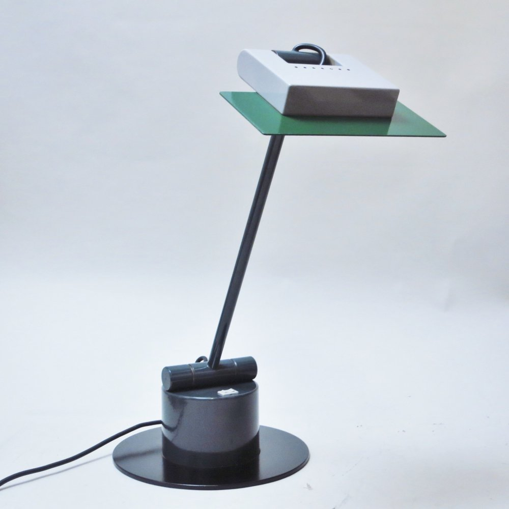Aero desk lamp by Ettore Sottsass for Bieffeplast, 1980s