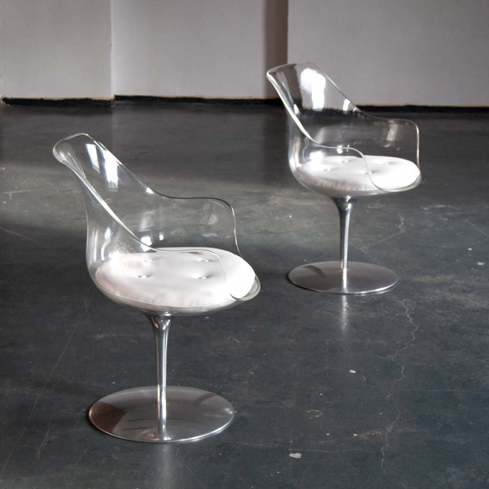 Champagne Chair by Erwin & Estelle Laverne for Formes Nouvelles, 1960s