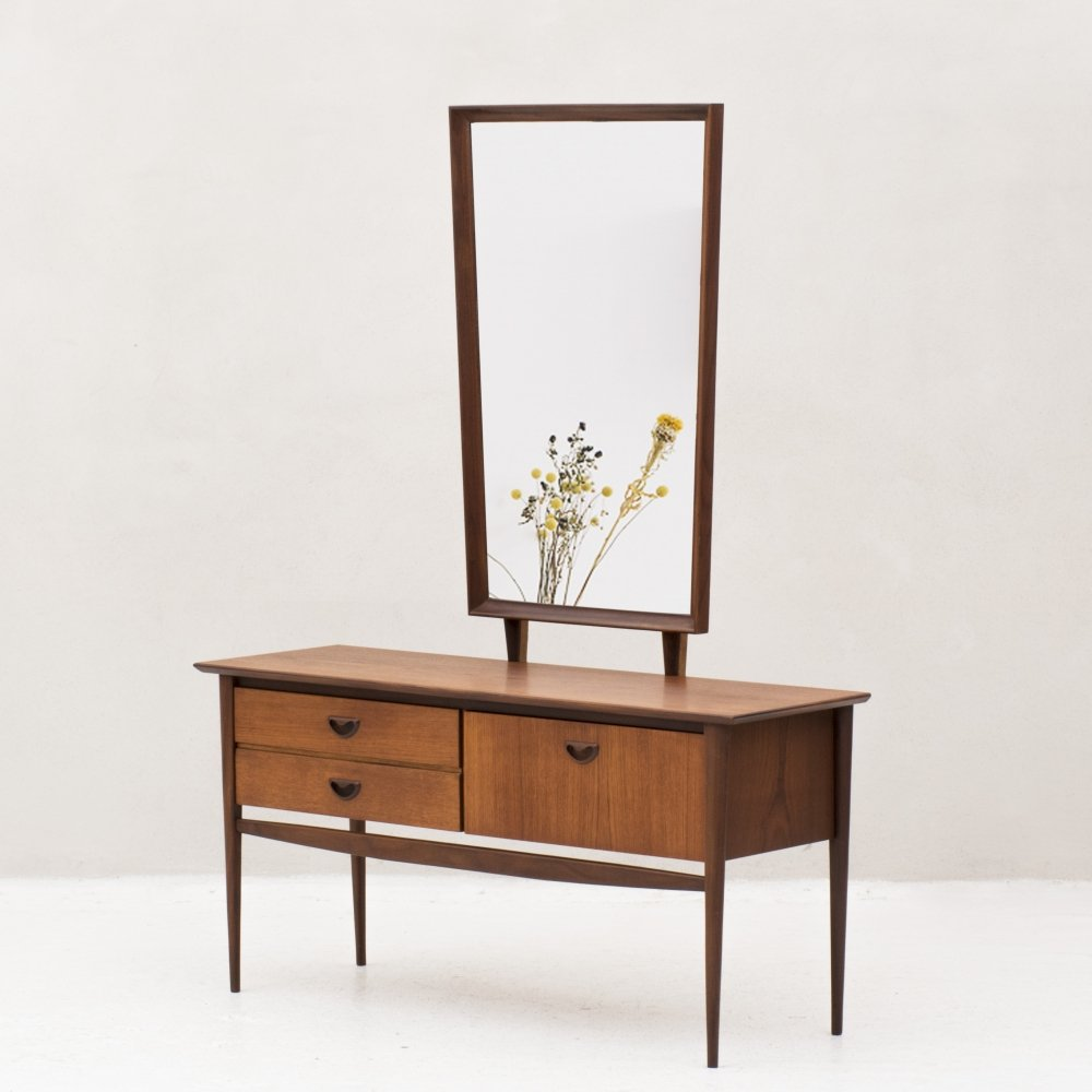 Dressing table with mirror by Louis van Teeffelen, Netherlands 1960