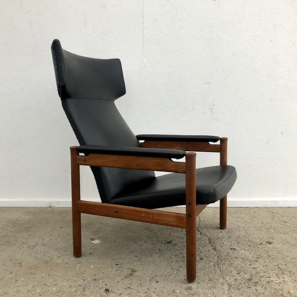 Wing lounge chair by Søren Hansen for Fritz Hansen, 1960s