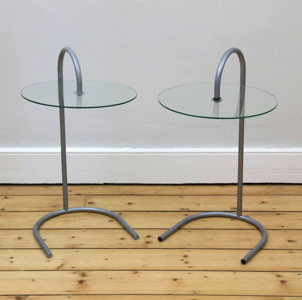 Pair of Vintage IKEA side tables, 1980s
