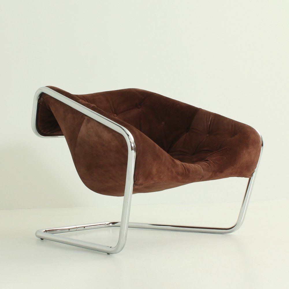 Boxer Armchair by Kwok Hoï Chan for Steiner, France